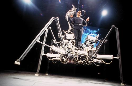 4. Exoskeleton – Stelarc