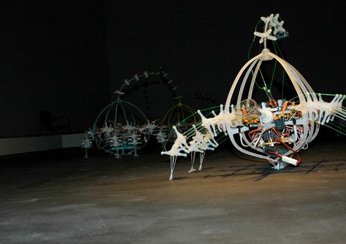 7. Autotelematic Spider Bots – Ken Rinaldo